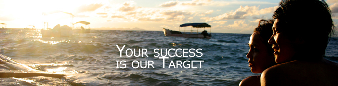 Banner Profil en: Your success is our target